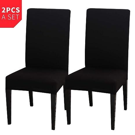 Muzi - Fundas Protectoras para sillas de Comedor, elásticas ...