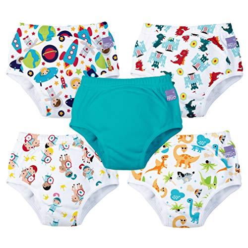 Bambino Mio, potty training pants, mixed boy, 2-3 years, 5 pack
