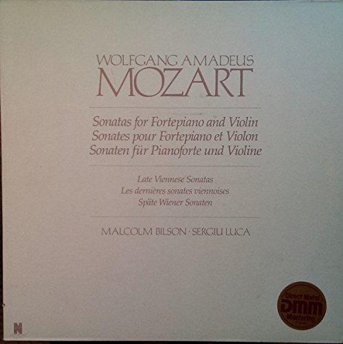 Wolfgang Amadeus Mozart: Sonatas For Fortepiano And Violin Vol. 3 - Late Viennese Sonatas (Spate Wiener Sonaten) [Vinyl]