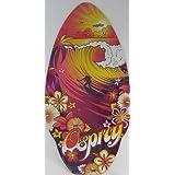 """41"""" skimmer surfer girl sunset surf"""