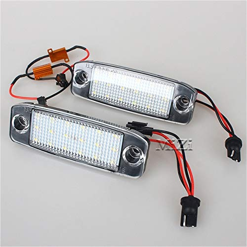 Beesclover 2pcs Car Led License Plate Light Number Plate Lamp For Kia Sportage 2011 Sonata