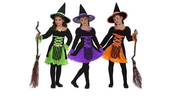 Atosa - Disfraz de bruja para niña, talla 9 años ...