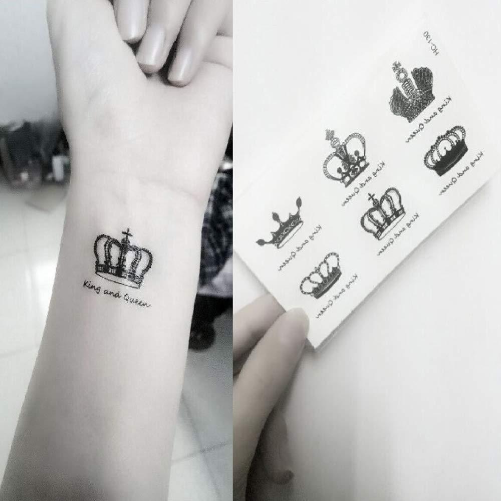 adgkitb Etiqueta engomada Temporal del Tatuaje del triángulo ...