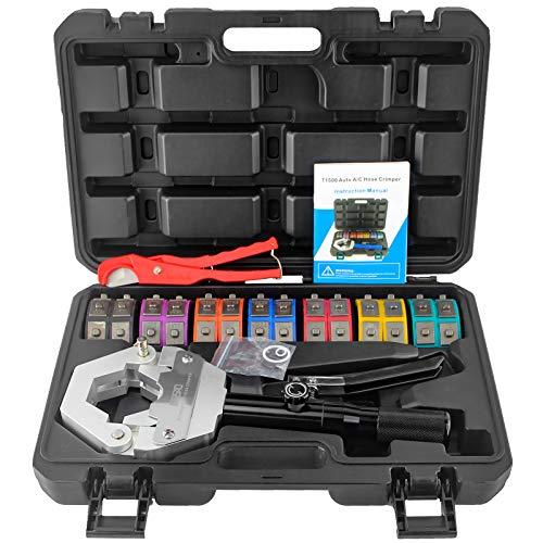 IBOSAD Hydraulic Hose Crimper Hydra-Krimp 71500 Manual A/C Hose Crimper Kit Air Conditioning Repaire Handheld Hydraulic Hose Crimping ()