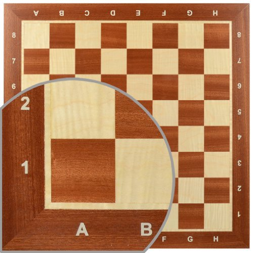 Professional Tournament Chess Board, No. - Staunton Chess