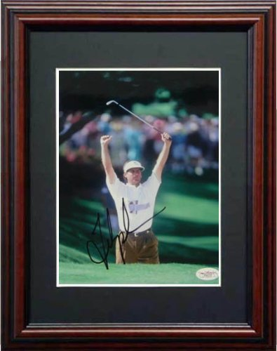 Fred Couples Signed JSA Framed Photo-8x10