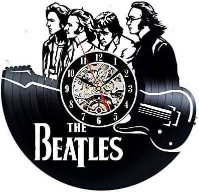 Disco de vinilo reloj beatles banda tema Decoración de la pared: Amazon.es: Hogar