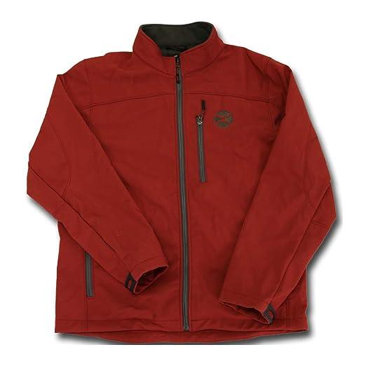 HOOey Softshell Jacket, Crimson with Charcoal at Amazon ...
