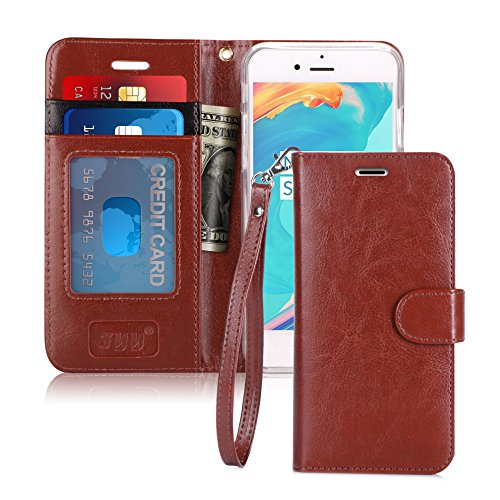 - FYY Luxury PU Leather Wallet Case for iPhone 6S/ iPhone 6, [Kickstand Feature] Flip Folio Case Cover with [Card Slots] and [Note Pockets] for Apple iPhone 6/6S (4.7