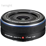 Olympus M.Zuiko Digital 17mm f/2.8 Lens for Micro Four Thirds Cameras (Black)
