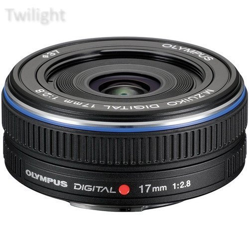 Olympus M.Zuiko Digital 17mm f/2.8 Lens for Micro Four Thirds Cameras (Black) by Olympus