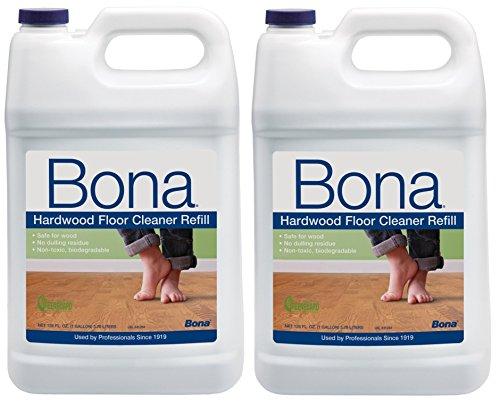 Bona Hardwood Floor Cleaner Refill 128oz., 2 Pack