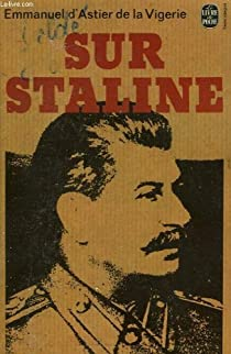 Sur Staline par Astier de La Vigerie