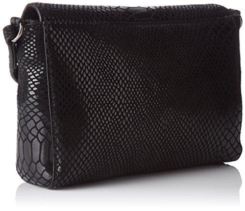 Petite Borse Black H Python cm Mendigote Noir tracolla L Flo x Donna a 6x15x25 W TtrFqtw