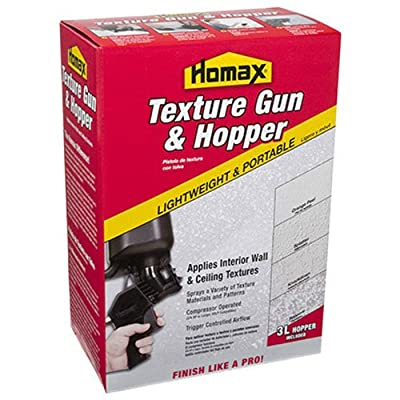 Homax 4630 New Pneumatic II Spray Texture Gun with Hopper from Homax