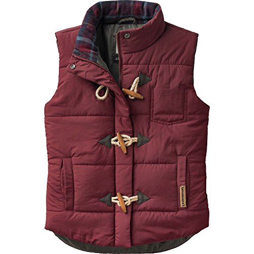Legendary Whitetails Ladies Quilted Vest Rusty Maroon X-S...