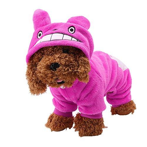 [Delight eShop Pet Clothes Dog Sweater Jacket Hoodie Cat Coat Puppy Apparel Costume] (Bat Wings Dog Costume)
