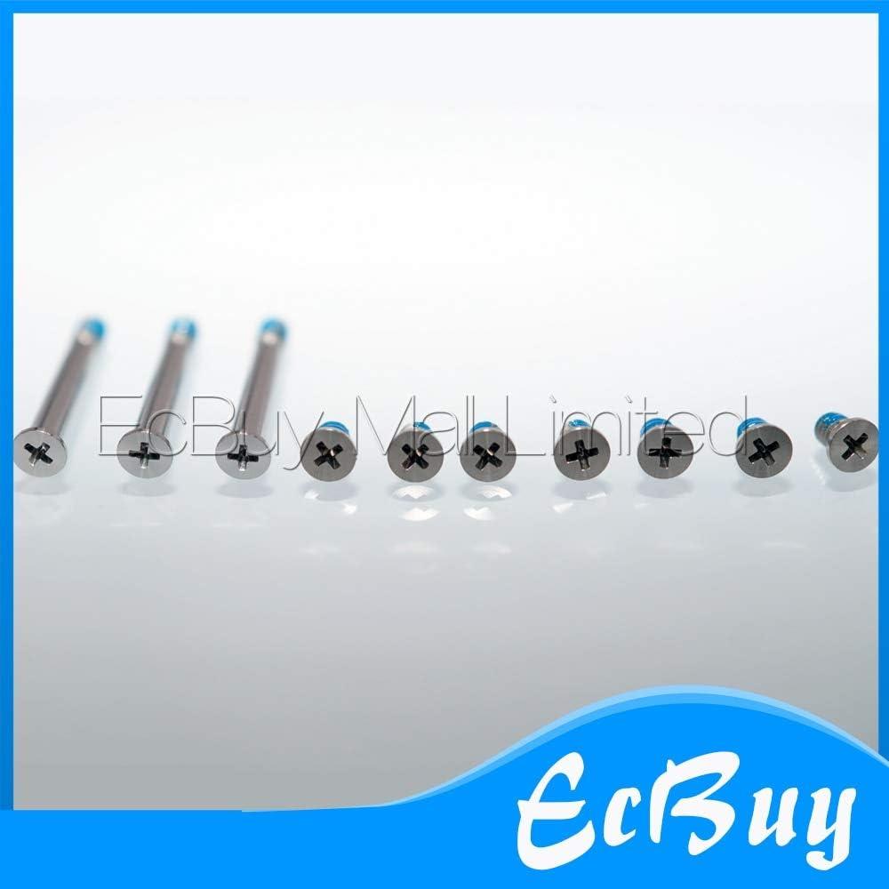 Cable Length: 1set Connectors New Laptop A1278 A1286 A1297 Screws Screw for MacBook Pro A1278 A1286 A1297 Bottom Back Case Cover Screws Screw 10 Pcs//Set