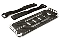 Integy Hobby RC Model C26725SILVER CNC Machined Battery Tray for Axial 1/10 SCX-10 Scale Off-Road Crawler
