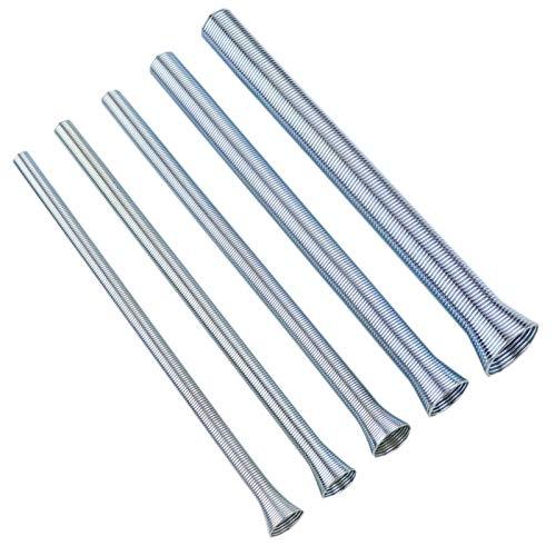 Fauge 5 Teilige Feder Rohr Biege Maschine 210Mm Zugfeder Rohr Biege Maschine 1//4 Zoll 5//8 Zoll Feder Stahl Fuer Kupfer Und Aluminium Rohr Biege Werkzeuge
