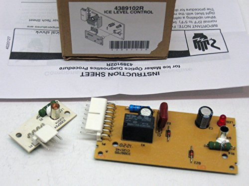 Whirlpool Level (4389102 Heavy Duty Whirlpool Refrigerator Ice Level Control Board Kit)
