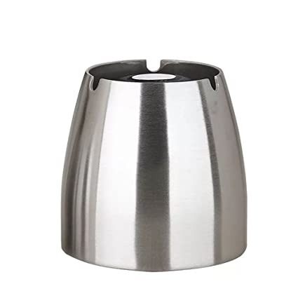 Ashtray ,Stainless Steel Unbreakable Modern Ashtray , Cigarette Ashtray for  Indoor or Outdoor Use, - Amazon.com: Ashtray ,Stainless Steel Unbreakable Modern Ashtray