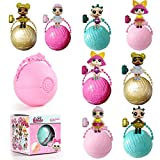 Adoeve Kids Adults Unisex Toys Cute Figure Small Model Guardians Doll