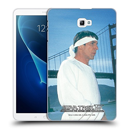 Official Star Trek Vulcan Robe Headband Spock The Voyage Home Tos Hard Back Case For Samsung Galaxy Tab A 10 1  2016