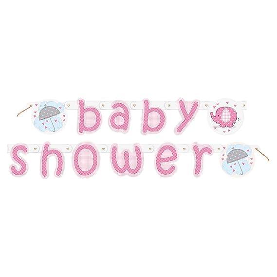 Amazon.com: Umbrellaphants Baby Shower - Paraguas para niña ...