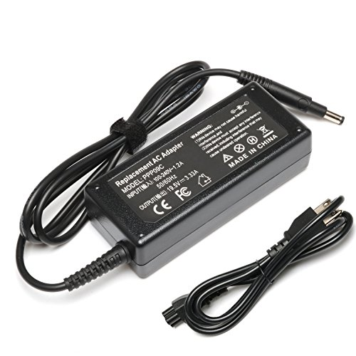 Novelty 65W 19.5V 3.33A Ac Adapter Laptop Charger for HP Pavilion TouchSmart 14-B109 14-B109WM 14-b124US 14-b150US 15-B142DX 14-B120DX 15-B143 15-B143CL;HP Envy 4 6 Battery Power Cord