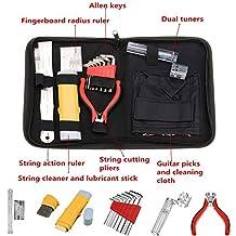 Chinatera Professional Full Set Guitar Care Tool Repair Maintenance Tech Kit