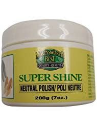 Moneysworth and Best Shoe Care Super Shine Polish, Neutral, 7-Ounce