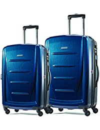 "Winfield 2 Fashion Two-Piece Spinner Set (20""/24""), Deep Blue"