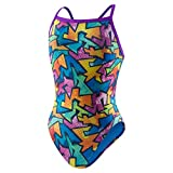 Speedo Women's Printed Propel Back Swimsuit