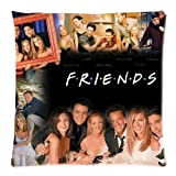 "Friends TV Show Merchandise Pillowcase Pillow Protectors Custom Zippered Pillow Case Size: 20""x20"" Two Sides Pillow Encasement"