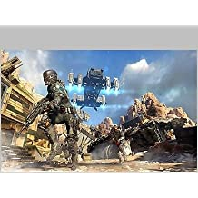 SDore CALL of DUTY Black OPS Xbox PS3 PS4 Birthday 1/4 Sheet Image Frosting Cake Topper
