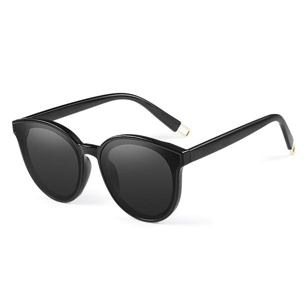 Black RJTYJ Fashion Polarized Sunglasses Ladies Sunglasses PC Lens, Polarized, AntiRadiation, AntiUVA, AntiUVB, UV Predection (color   Pink)