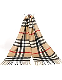 Blanket Scarves Scarf Plaid Scarves Tartan Wrap Classic Cashmere Soft Warm Shawl