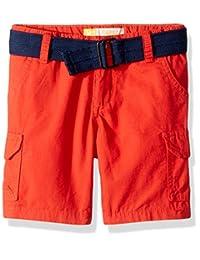 Lee boys Toddler Boys Belted Ripstop Cargo Short