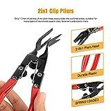 GOOACC 3 Pcs Clip Pliers Set & Fastener Remover