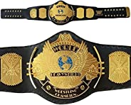 Classic Gold Winged Eagle Championship Belt Adult Size Replica