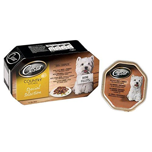 Cesar Country Kitchen Meat in Gravy 4 x 150g (PACK OF 4)