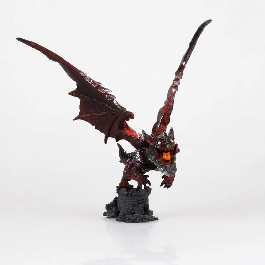 los últimos modelos LLKOZZ World of Warcraft Warcraft Warcraft Juguete Statue negro Dragon Neltharion Modelo de Juguete Decoración de Escritorio Coleccionables Artesanía - Altura  7.9in Juguete  ordene ahora los precios más bajos