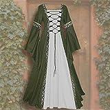 Bokeley Women Medieval Renaissance Dress Lace Up