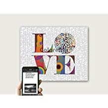 All of Me by John Legend or Any Inspired LOVE Song QR Code First Dance Song Lyric Art, Personalized First /Second Anniversary Gift For Husband, UNFRAMED Print Only