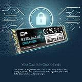 Silicon Power 256GB - NVMe M.2 PCIe Gen3x4 2280 TLC SSD