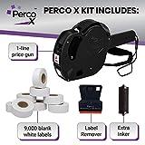 Perco X Price Gun Kit - 1 Line Perco X Label