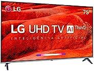 """Smart Tv Led 75"""" Lg 75um7510, Uhd 4k, Thinq Ai, Webos 4.5, Quad Core, Hdr Ativo, 2 Usb, 4"""