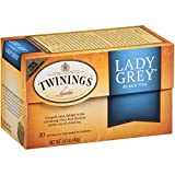Twinings Tea Lady Grey Tea, 20 ct (Pack of 2)