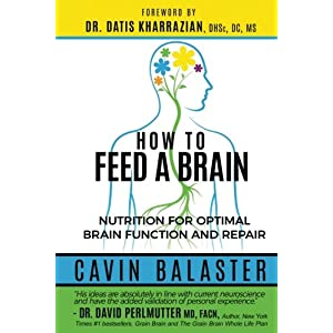 Gut Health Shop 51t+de0ABOL._SS300_ How to Feed a Brain: Nutrition for Optimal Brain Function and Repair